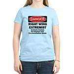 Danger Right Wing Extremist Women's Light T-Shirt