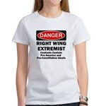 Danger Right Wing Extremist Women's T-Shirt