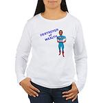 DESTORYER of WEALTH Women's Long Sleeve T-Shirt
