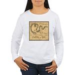 9 Principles 12 Values Women's Long Sleeve T-Shirt