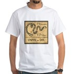 9 Principles 12 Values White T-Shirt