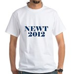 NEWT 2012 White T-Shirt