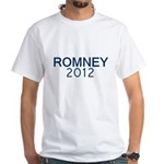 ROMNEY 2012 White T-Shirt