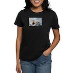 Hooked Bass Women's Dark T-Shirt