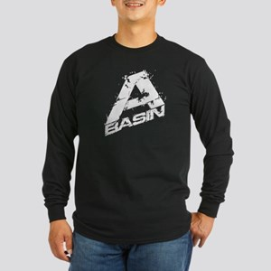 A-Basin Design For Dark Long Sleeve Dark T-Shirt