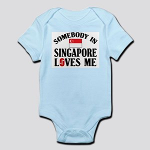 Somebody In Singapore Infant Creeper