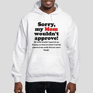 Parental approval denied! Hooded Sweatshirt