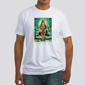 Emerald Lord Shiva Fitted T-Shirt