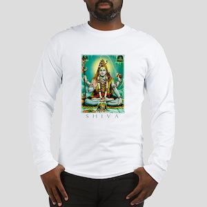 Emerald Lord Shiva Long Sleeve T-Shirt