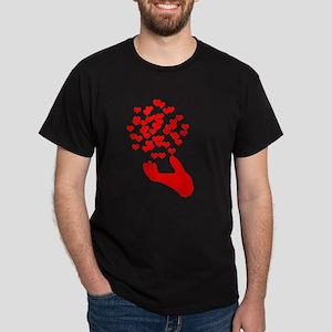 Fly away hearts Dark T-Shirt