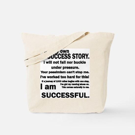 Success Story Tote Bag