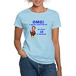 OMG - I agree with PETA Women's Light T-Shirt