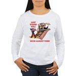 Watch Out for the Healthcare Women's Long Sleeve T