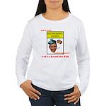 Read the Bill Women's Long Sleeve T-Shirt