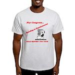 Reading is Fundamental Light T-Shirt