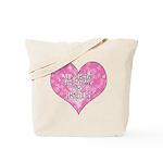 My Heart Belongs to Jesus Tote Bag