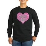 My Heart Belongs to Jesus Long Sleeve Dark T-Shirt