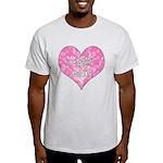 My Heart Belongs to Jesus Light T-Shirt