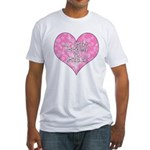 My Heart Belongs to Jesus Fitted T-Shirt
