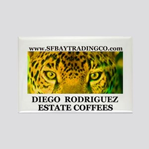 SF BAY Estate Coffee Rectangle Magnet