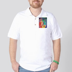 Sax, Musician, Bright, Fun, Golf Shirt