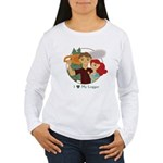 Love My Logger - Redhead Women's Long Sleeve T-Shi