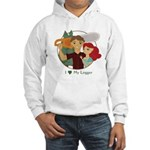 Love My Logger - Redhead Hooded Sweatshirt