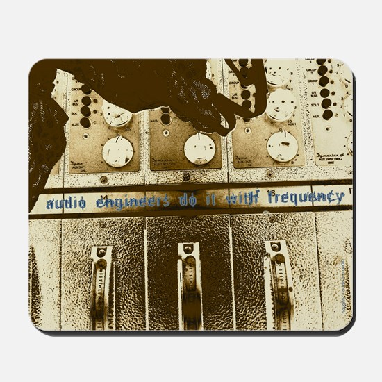 Mousepad: audio engineers do it w/frequency.
