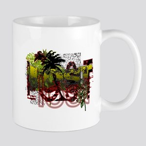 Lost Jungle Grunge Mug