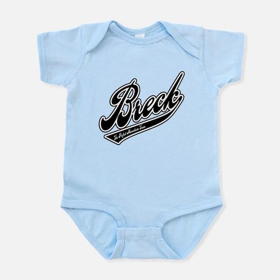 Breck Baseball Logo Infant Bodysuit