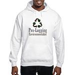 Pro-Logging Environmentalist Hooded Sweatshirt
