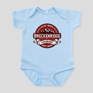 Breckenridge Red Infant Bodysuit