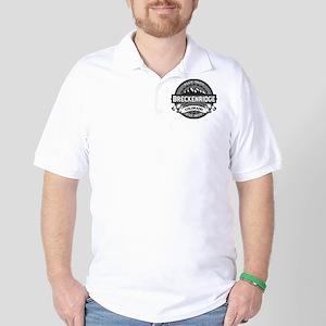 Breckenridge Grey Golf Shirt