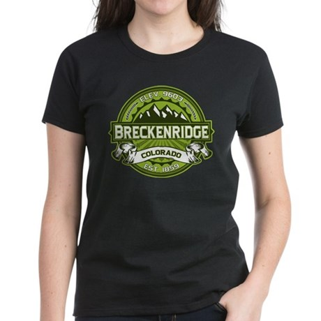 Breckenridge Green Women's Dark T-Shirt
