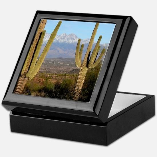 Desert Life Keepsake Box