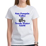 San Joaquin Valley Needs Wate Women's T-Shirt