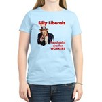 Silly Liberals (Uncle Sam) Women's Light T-Shirt