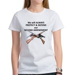 Protect & Defend theSecond Am Women's T-Shirt