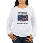Amrican Patriot Women's Long Sleeve T-Shirt