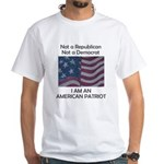 Amrican Patriot White T-Shirt