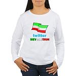 Twitter Revolution Women's Long Sleeve T-Shirt