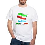 Twitter Revolution White T-Shirt