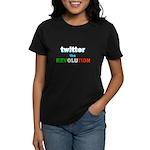 Twitter the Revolution (Dark) Women's Dark T-Shirt