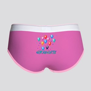 Graduation Balloons Women's Boy Brief