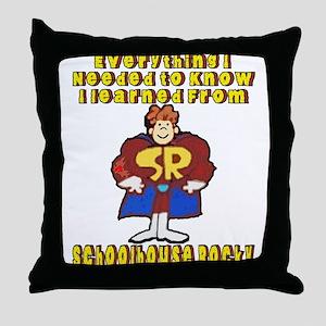 Schoolhouse Rocky Throw Pillow