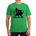 Gryphon Men's Fitted T-Shirt (dark)