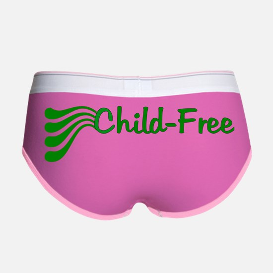 Child Free Women's Boy Brief