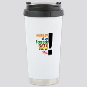 Interjections! Stainless Steel Travel Mug