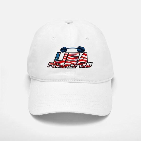 U.S. Powerlifting Baseball Baseball Cap