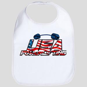 U.S. Powerlifting Bib